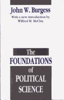 The foundations of political science