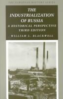 Download The industrialization of Russia