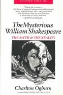 The mysterious William Shakespeare