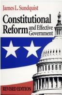 Download Constitutional reform and effective government