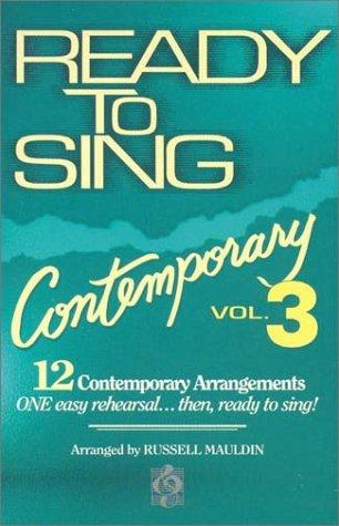 Ready to Sing Contemporary – Volume 3