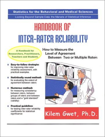 Handbook of Inter-Rater Reliability by