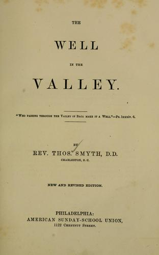 Download The well in the valley
