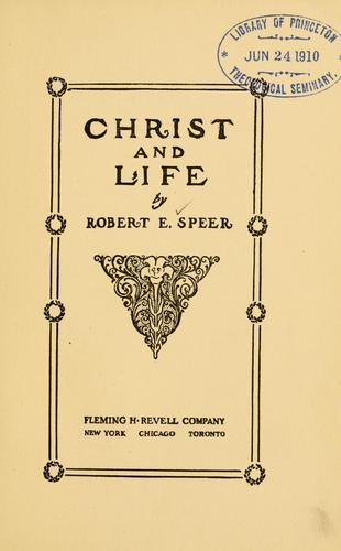 Download Christ and life
