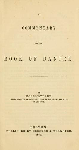 Download A commentary on the Book of Daniel