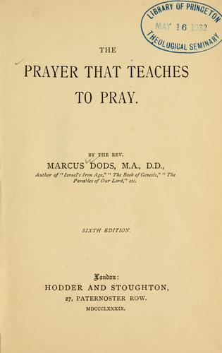 Download The prayer that teaches to pray.