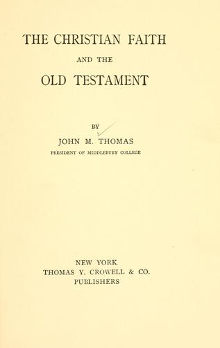 Download The Christian faith and the Old Testament