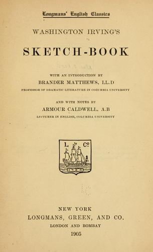 Download Washington Irving's Sketch book