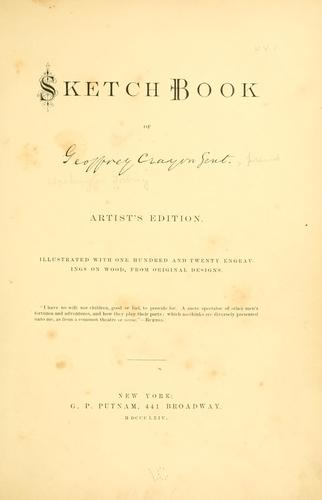 Download Sketch book of Geoffrey Crayon, gent. pseud.