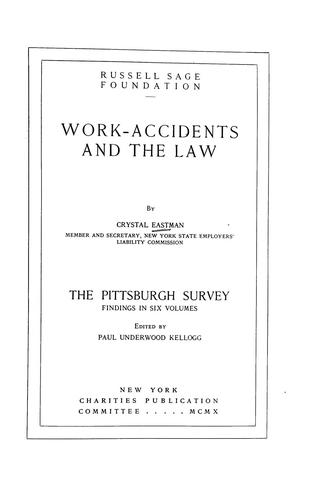 Download Work-accidents and the law