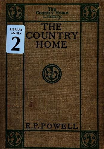 Download The country home