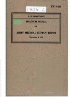 Cover of: Army Medical Supply Depot