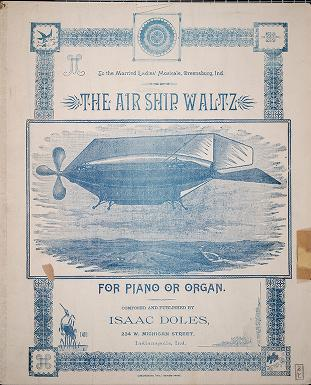 The air ship waltz by Isaac Doles