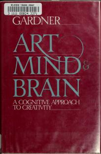Cover of: Art, mind, and brain | Howard Gardner