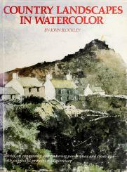 Cover of: Country landscapes in watercolor | John Blockley