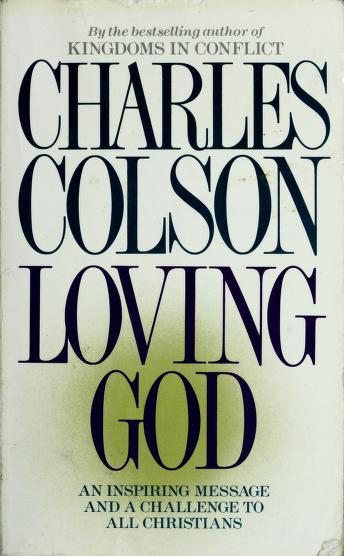 Cover of: Loving God | Charles Colson