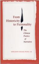 From historicity to fictionality by Hsiao-peng Lu