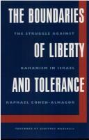 The boundaries of liberty and tolerance by Raphael Cohen-Almagor