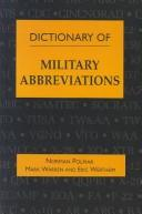 Dictionary of military abbreviations by Norman Polmar