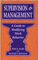 Supervision & management by John N. Marr
