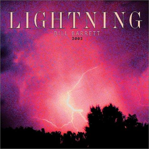 Lightning 2002 Wall Calendar by Bill Barrett