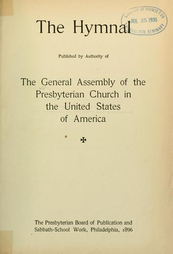 The Hymnal by Presbyterian Church in the U.S.A.
