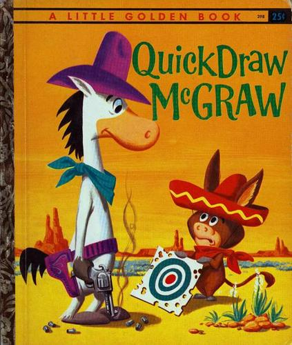 Quick Draw McGraw by Carl Memling