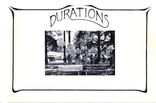 Durations by Fred Douglas